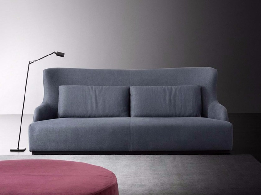 Sofa with removable cover DUKE by Meridiani