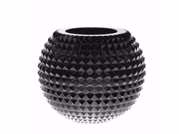 Vaso in cristallo DUKE SPHERE STUDS - Gianfranco Ferré Home