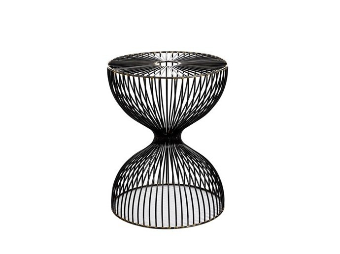 Metal stool DUMBBELL NUDE - Pols Potten