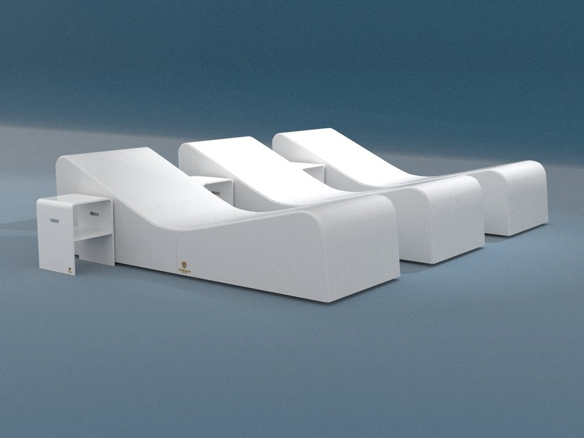 Spa bed for chromotherapy DUNA - Trona