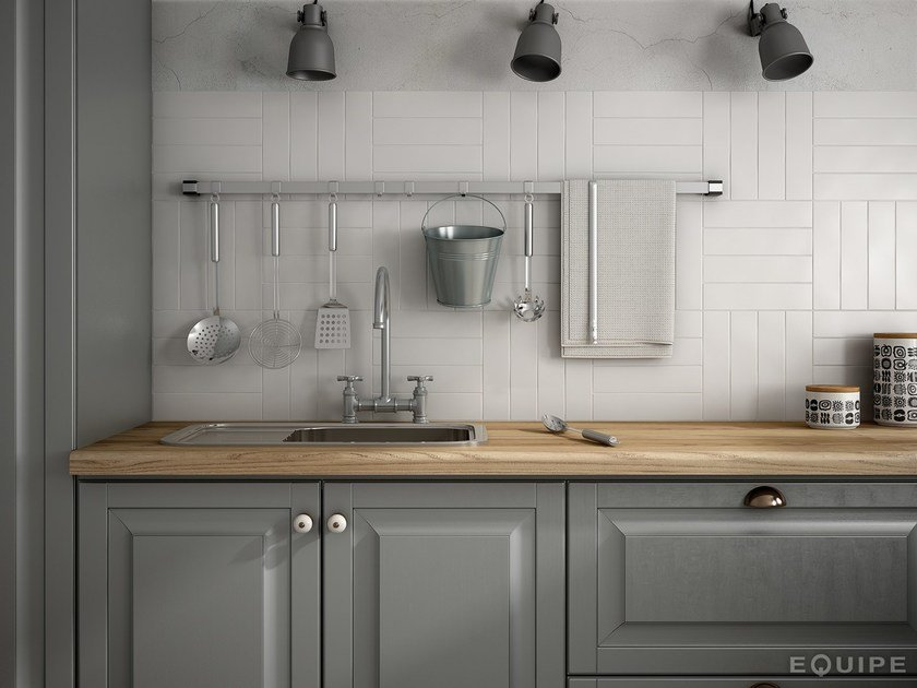 White-paste wall tiles DUNAS | Wall tiles by EQUIPE CERAMICAS