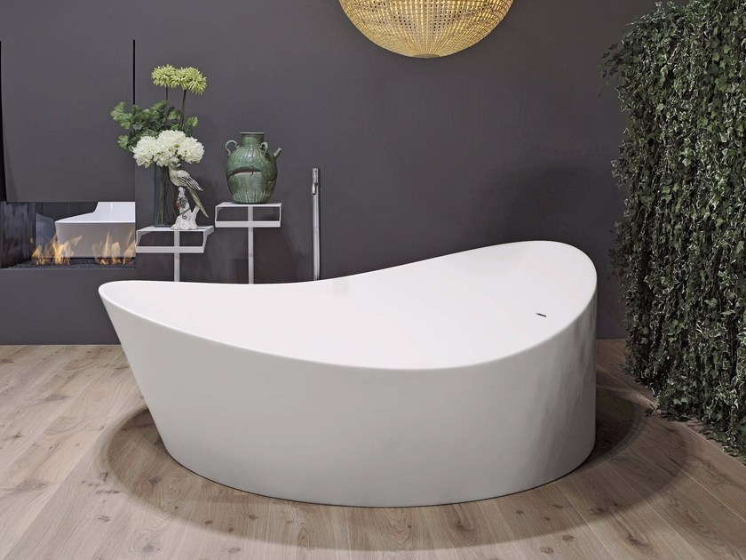 Freestanding Cristalplant® bathtub DUNE | Bathtub - Antonio Lupi Design®