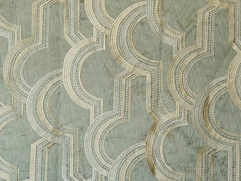 Fabric with graphic pattern DUOMO by Aldeco