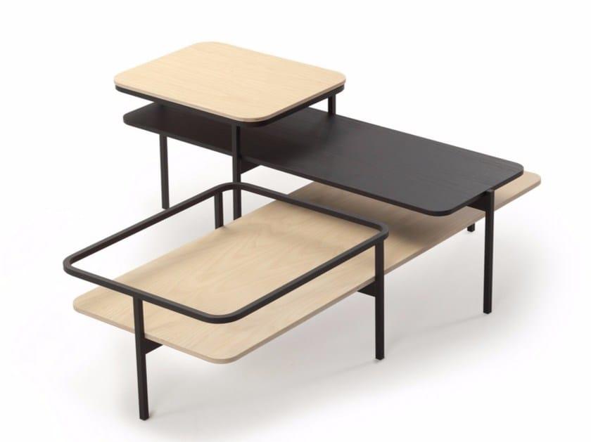 Wooden side table DUPLEX - SANCAL