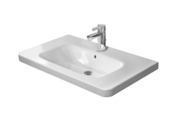 Console ceramic washbasin DURASTYLE | Console washbasin by Duravit