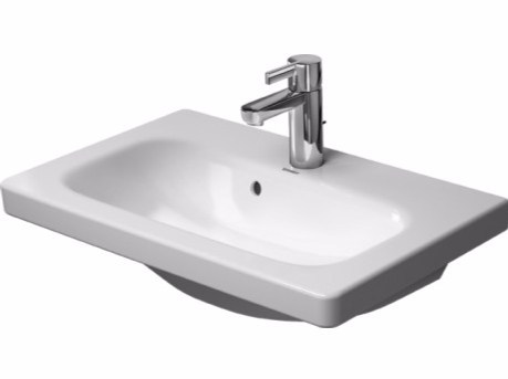 Rectangular ceramic washbasin DURASTYLE | Rectangular washbasin - DURAVIT