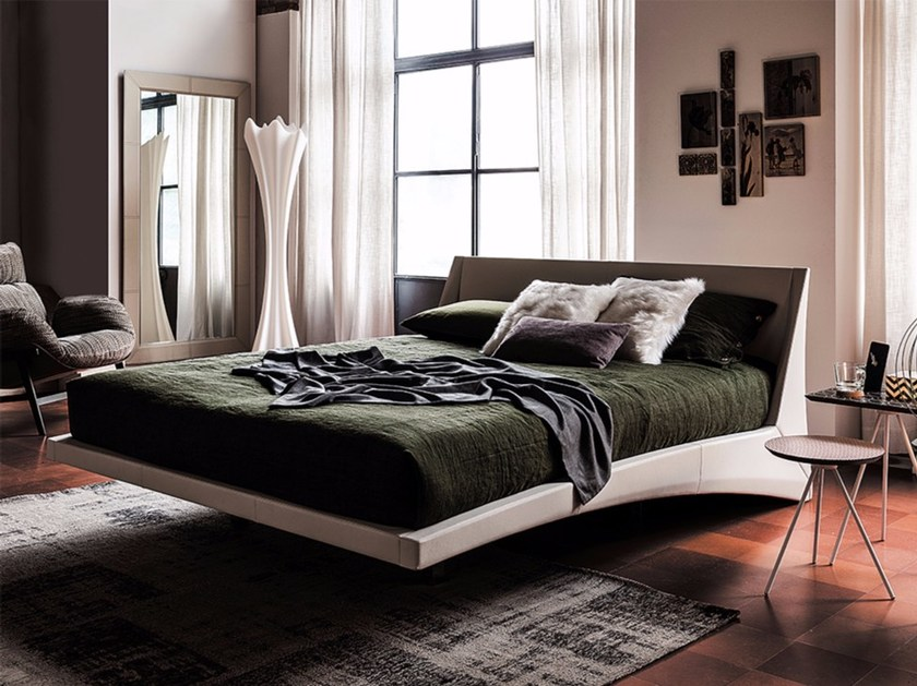 Upholstered double bed DYLAN by Cattelan Italia
