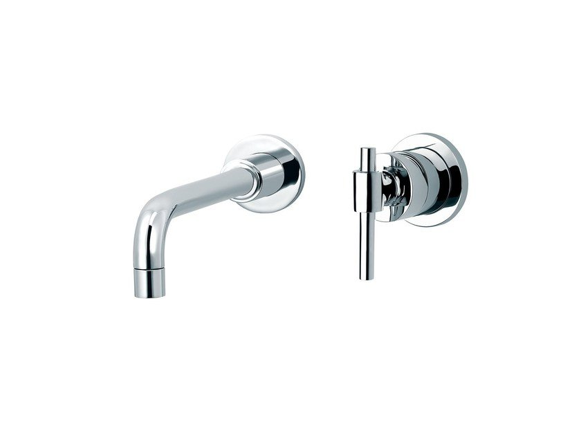 2 hole wall-mounted washbasin mixer DYNAMIC | 2 hole washbasin mixer - rvb