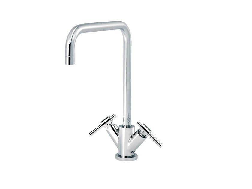 Countertop 1 hole kitchen mixer tap DYNAMIC | Countertop kitchen mixer tap - rvb