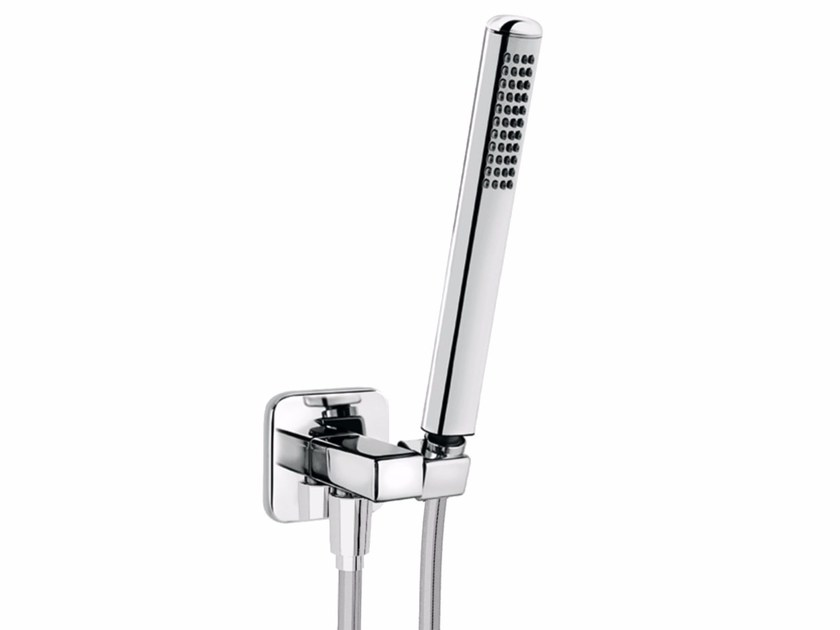 Wall-mounted chrome-plated handshower with bracket DYNAMICA 88 - 8839732 - Fir Italia