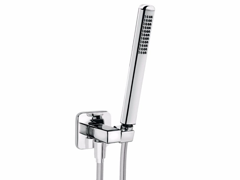 Wall-mounted chrome-plated handshower with bracket DYNAMICA 88 - 8839732 by Fir Italia