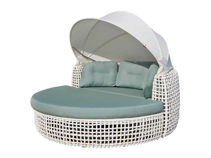 Letto da giardino rotondo a igloo DYNASTY 84820 by SKYLINE design