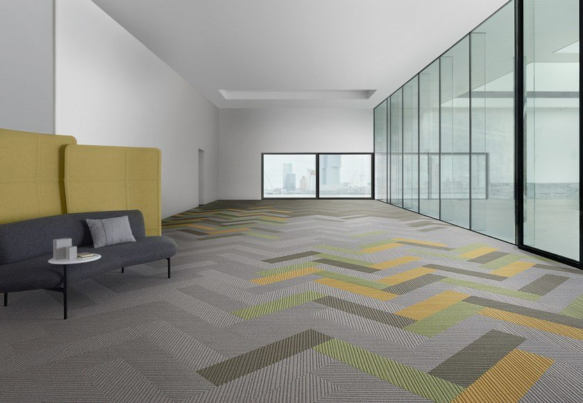 Carpet tiles Desso Traverse - TARKETT