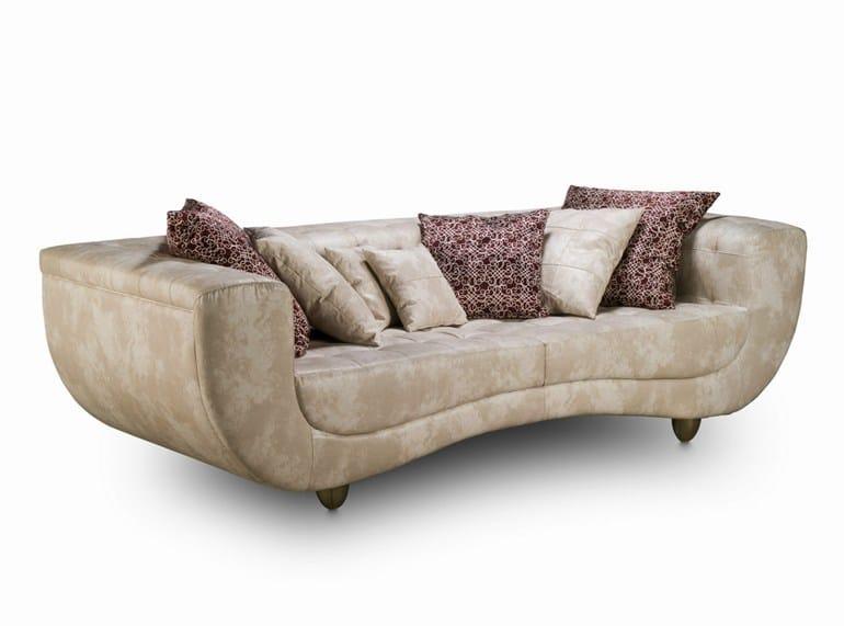 Tufted 2 seater leather sofa ÉTOILE AVANT GARDE | Tufted sofa - DL Decor