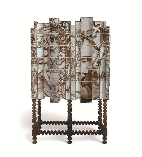Baroque lacquered solid wood storage unit Dom Heritage - Boca do Lobo