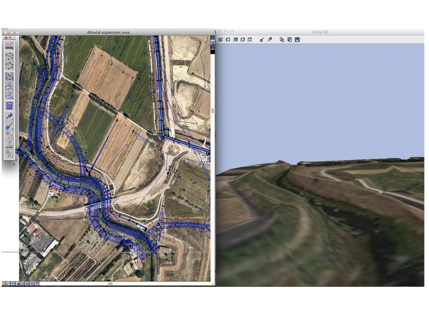 Topographic, land registry, land modelling survey DomusTerra by INTERSTUDIO