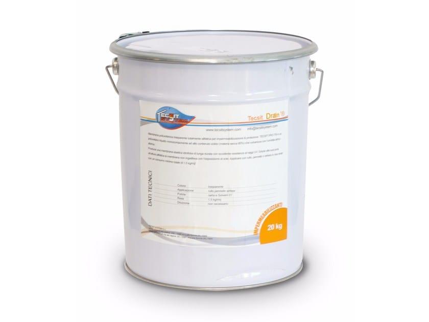 Agglomerante poliuretanico alifatico TECSIT DRAIN - Tecsit System®