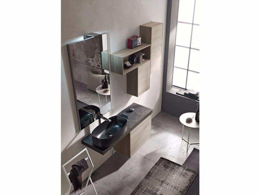 Wooden bathroom cabinet / vanity unit E.GÒ - COMPOSITION 38 - Arcom