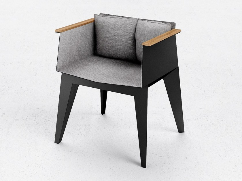 Chair with armrests E3 - ODESD2