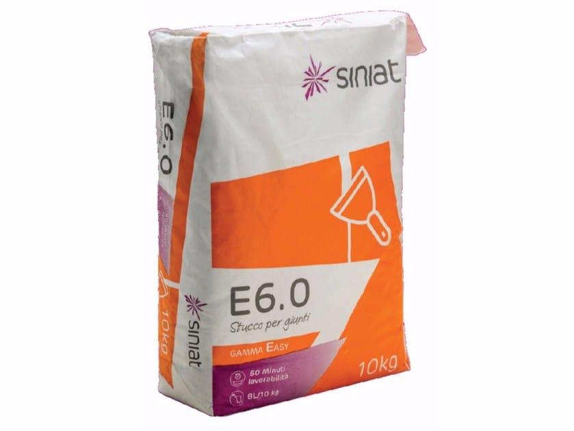 Stucco riempitivo in polvere a presa rapida per giunti E6.0 - Siniat
