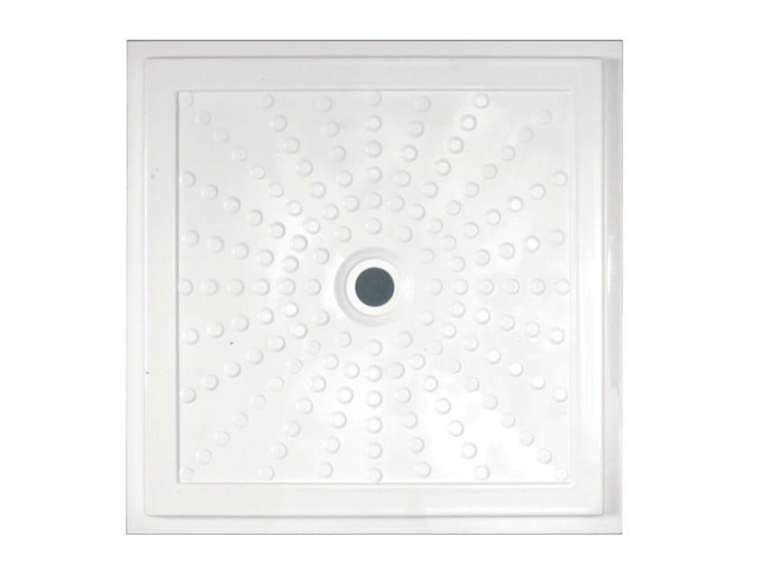 Piatto doccia filo pavimento in vetroresina easy 15200 - Piatti doccia in vetroresina ...
