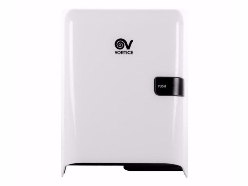 ABS Electric hand-dryer with push-button EASY DRY MANUAL - Vortice Elettrosociali