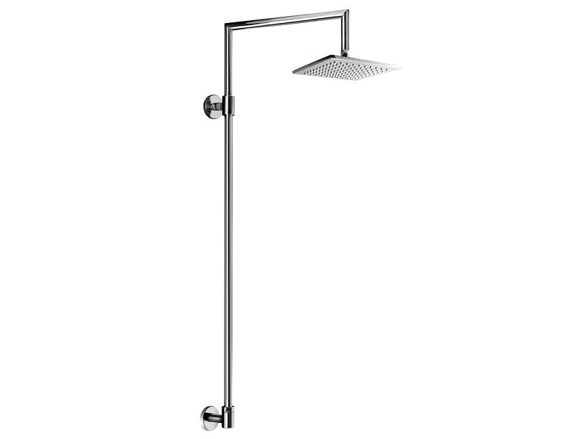 Wall-mounted shower panel with overhead shower EASY SHOWERS - 1441330 - Fir Italia