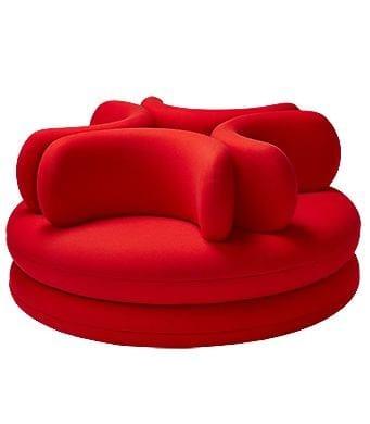 Round 4 seater sofa EASY | Round sofa - Verpan