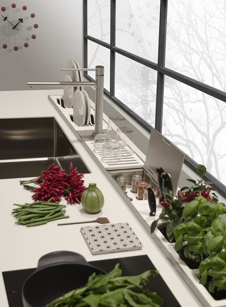 accessorio per canale attrezzato easyrack kitchen step