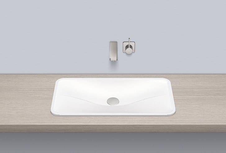 Built-in basin from glazed steel EB.TA700 - ALAPE