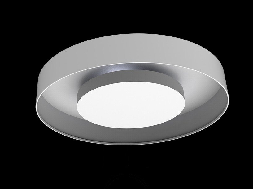 Indirect light aluminium ceiling lamp ECLIPSE | Ceiling lamp by Exporlux