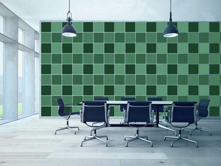 Felt decorative acoustical panels ECOFELT - Slalom