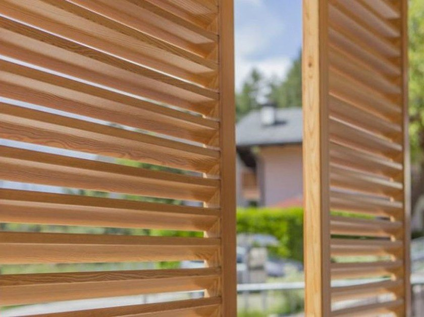 WPC solar shading ECOOEGNO | WPC solar shading by ECOLEGNO by Saimex