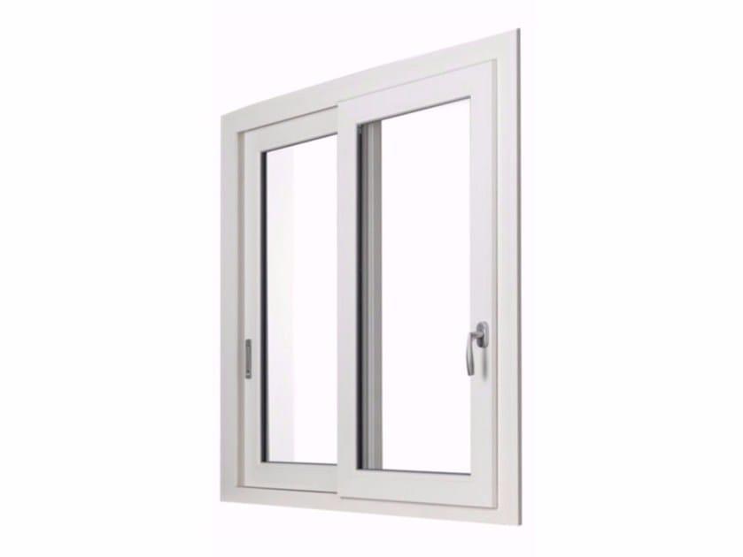 Sliding window ECOSLIDE by FOSSATI PVC