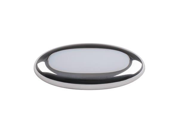 LED walkover light outdoor stainless steel steplight EDEL - Quicklighting