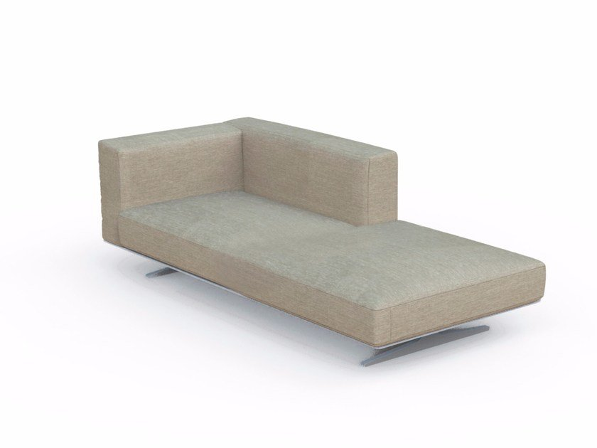 Upholstered fabric day bed EDEN | Day bed - Talenti