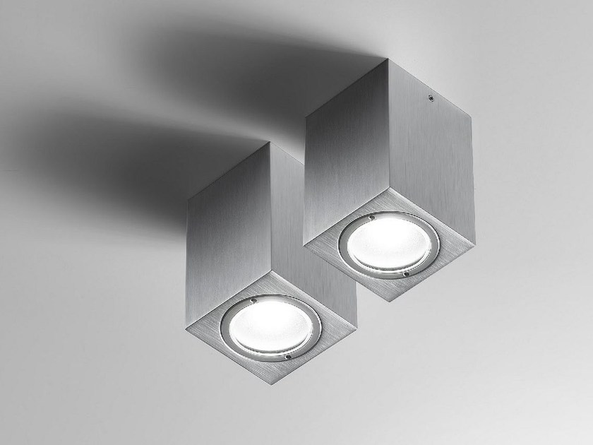 LED metal ceiling lamp EDGE | Ceiling lamp - Olev by CLM Illuminazione