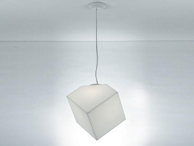 Thermoplastic resin pendant lamp EDGE | Pendant lamp - Artemide