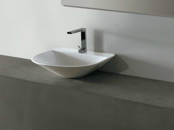 Ceramic washbasin EDGE ROUND | Washbasin - Alice Ceramica