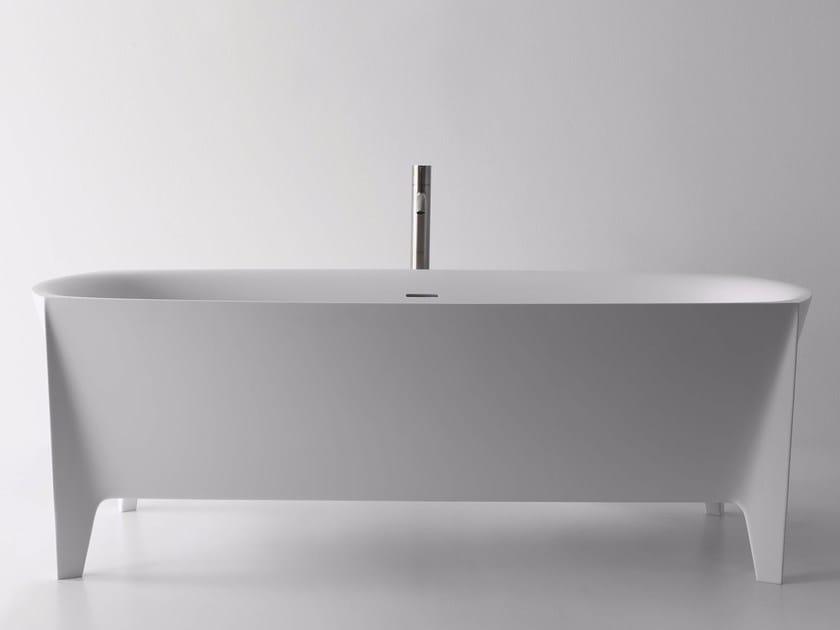 Freestanding Cristalplant® bathtub EDONIA - Antonio Lupi Design®