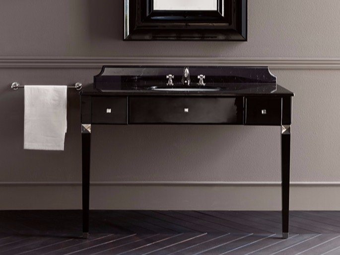 Marble vanity unit with drawers EDYTH - BATH&BATH