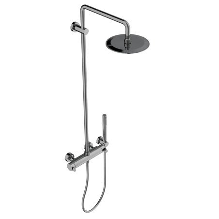 Shower tap with hand shower with overhead shower EFFE | Shower tap - Signorini Rubinetterie