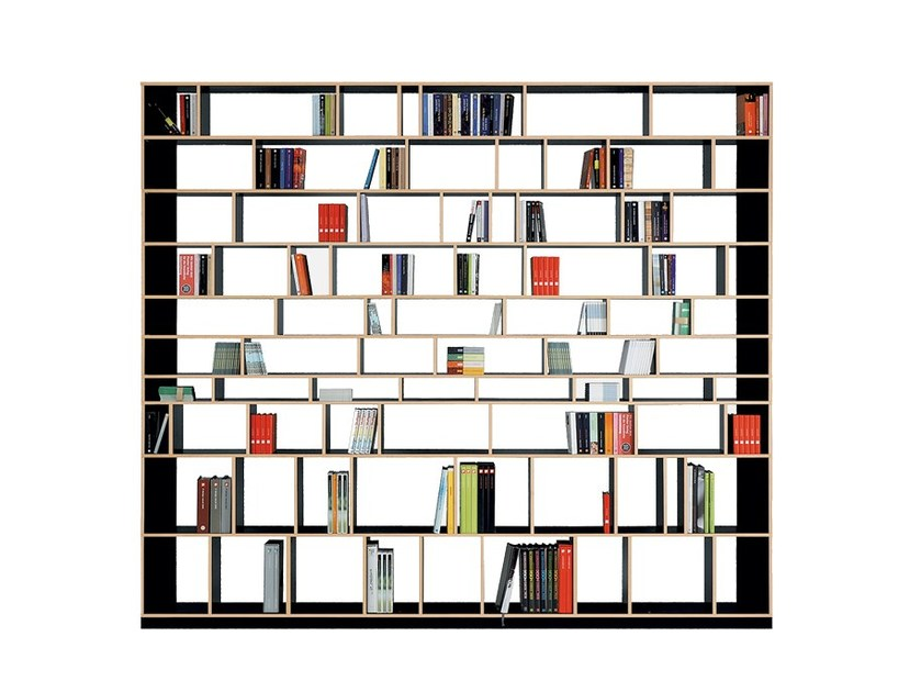 Open sectional bookcase EGAL by Nils Holger Moormann