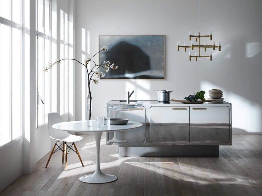 cuisine professionnelle en acier inoxydable ego mirror by abimis design alberto torsello. Black Bedroom Furniture Sets. Home Design Ideas