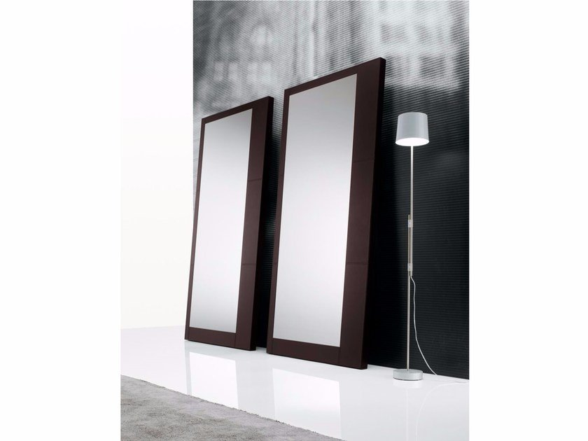 Rectangular framed mirror EGO | Mirror by poliform