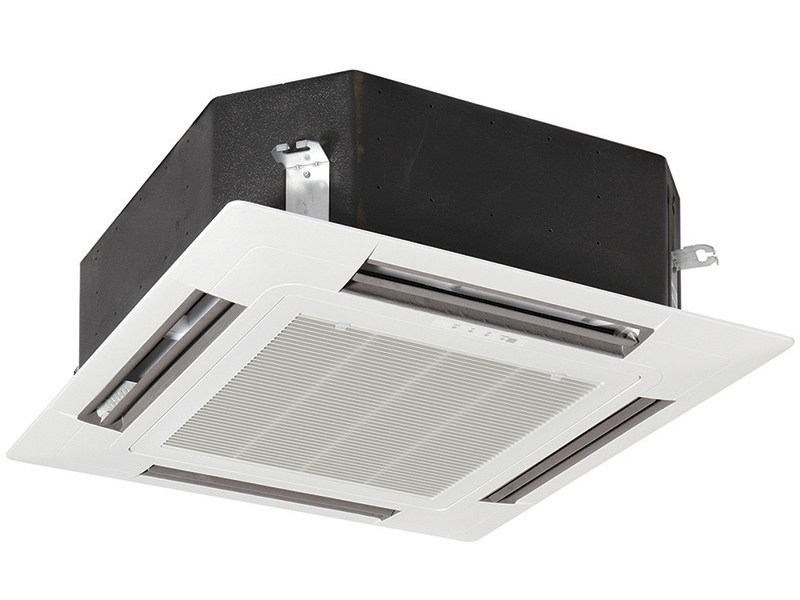 Cassette ceiling mounted commercial air conditioner EICH | Cassette air conditioner - EMMETI