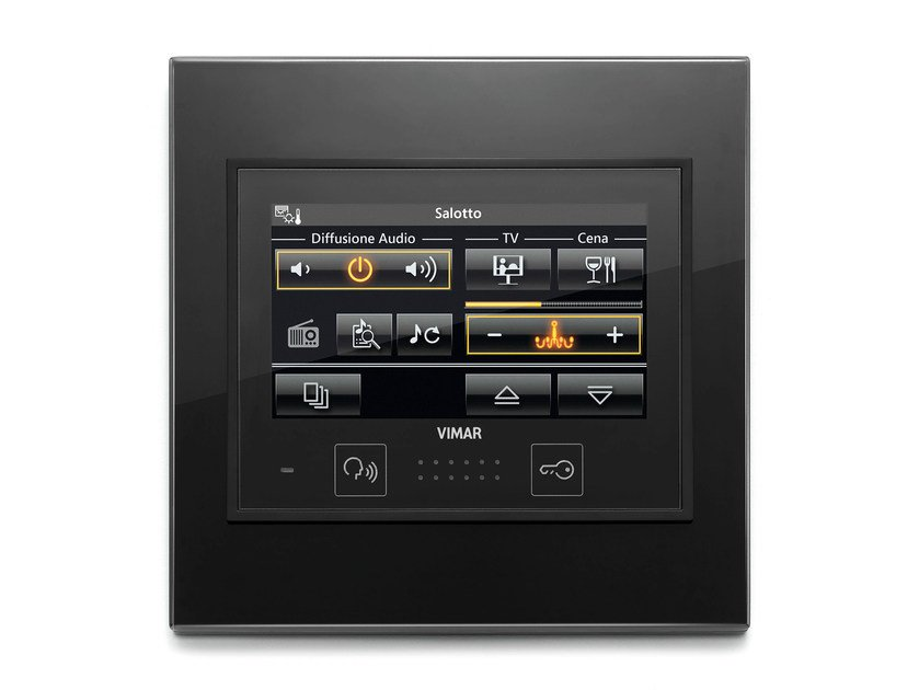 Home automation system for audio / video for households EIKON EVO FULL FLAT | Home automation system for audio / video by VIMAR