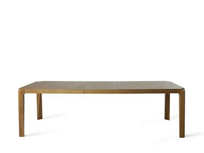 Extending oak table EILES | Extending table - Potocco