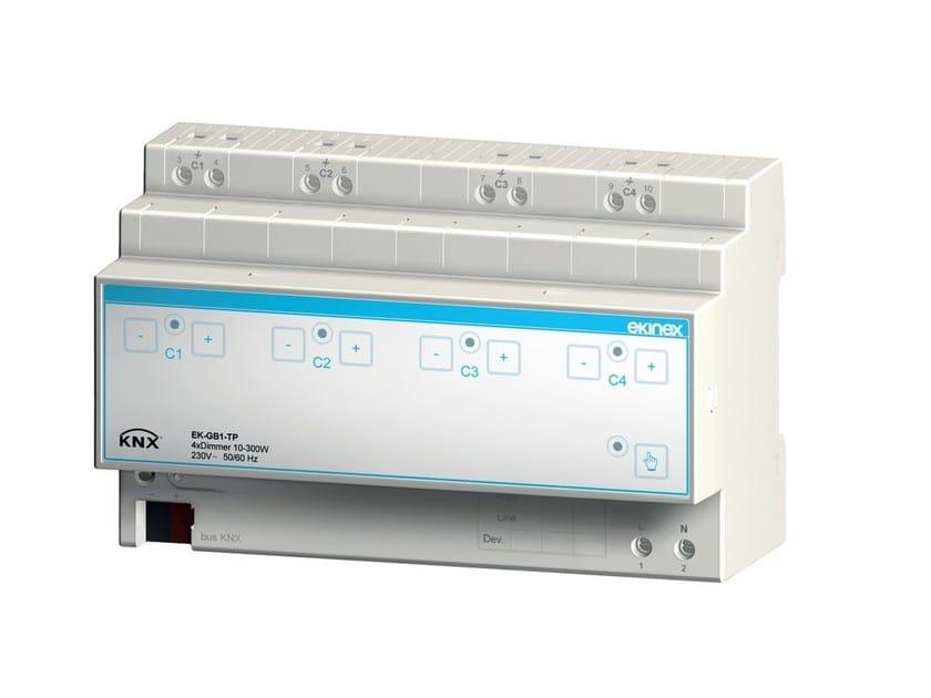4-fold universal dimmer EKINEX® EK-GB1-TP - Ekinex® by SBS