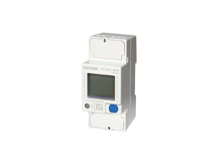 80A single phase energy counter EKINEX® EK-ME1-80M - Ekinex® by SBS